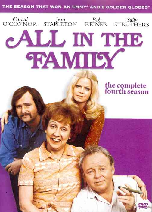 ALL IN THE FAMILY:COMPLETE 4TH SEASON BY ALL IN THE FAMILY (DVD)