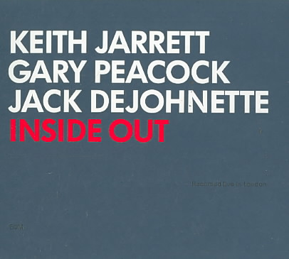 INSIDE OUT BY JARRETT,KEITH TRIO (CD)